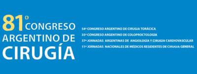 81 Congreso de Cirugia y 54 Congreso de Cirugia Torácica – Noviembre 2010