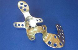Fondo acetabular de acero