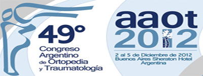 49 Congreso Argentino de Ortopedia y Traumatología – Diciembre 2012