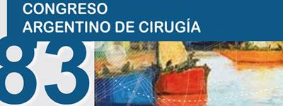 83 Congreso Argentino de Cirugia  – Noviembre 2012