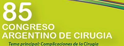 85° Congreso Argentino de Cirugía 2014