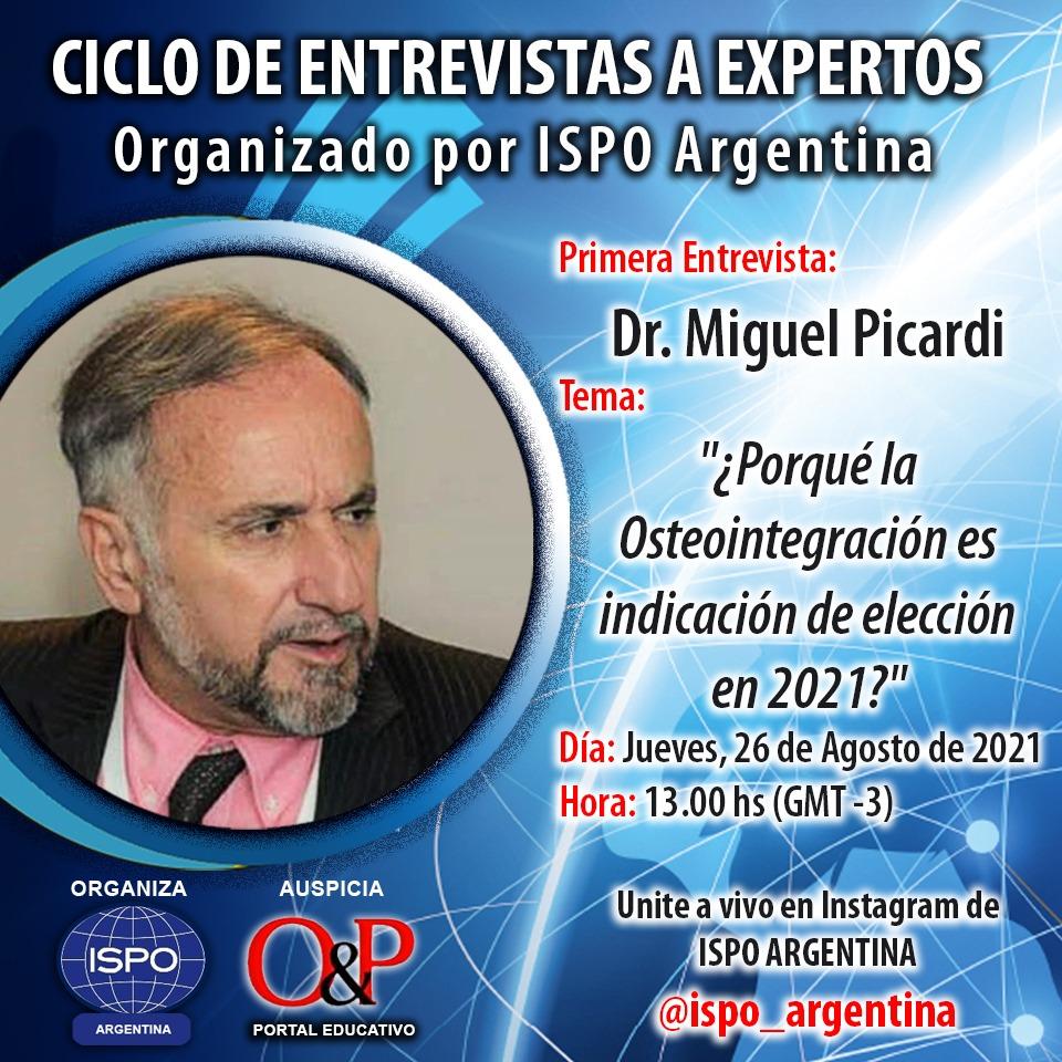 Ciclo de entrevistas a Expertos Organizado por ISPO Argentina